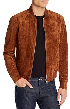 Blank NYC Faux-Suede Bomber Jacket