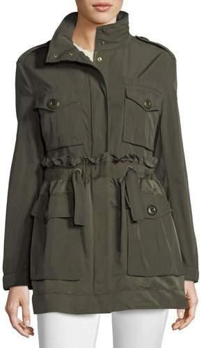 Moncler Rhodonite A-Line Self-Tie Jacket
