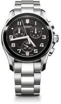 Victorinox Chrono Classic Stainless Steel Chronograph Bracelet Watch
