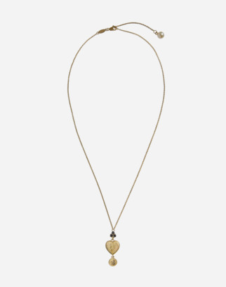 Dolce & Gabbana Necklace With Heart Pendant