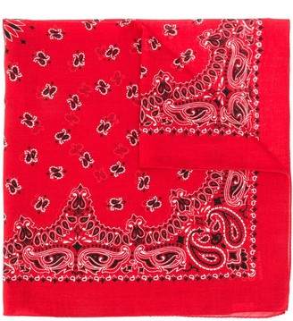 Saint Laurent Bandana Scarf