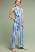 MiH Jeans Santa Barbara Striped Jumpsuit