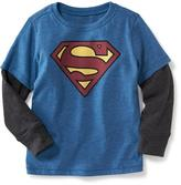 Old Navy Dc Comics Superman 2-In-1 Tee for Toddler