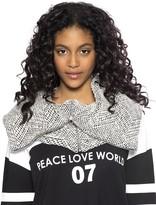 Peace Love World Neck Scarf