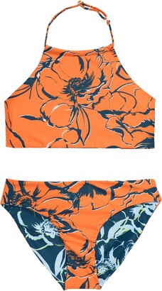 Zella Just Breathe Reversible Two-Piece Swimsuit