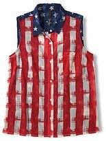Jessica Simpson Aeriel Americana Patriotic Top