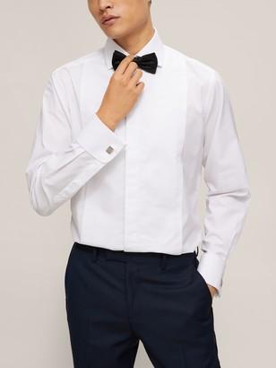 Smyth & Gibson Non Iron Marcella Contemporary Fit Dress Shirt, White