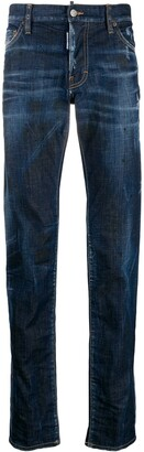DSQUARED2 Slim distressed jeans