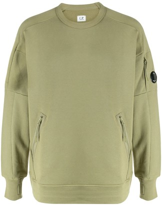 C.P. Company Long-Sleeve Zip Sweatshirt