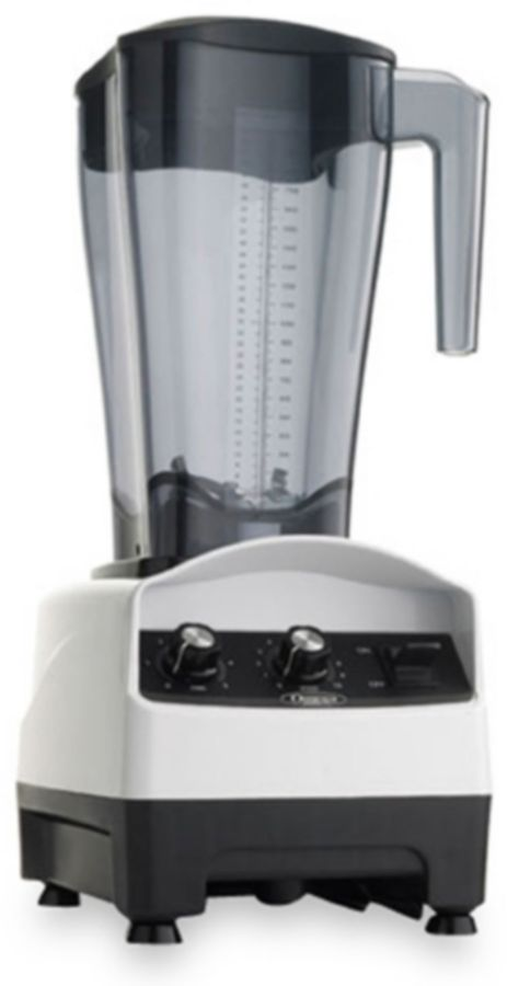 Omega 64-Ounce 2-HP Variable Speed Blender With Advanced Timer