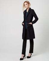 Le Château Melton Wool Notch Collar Coat