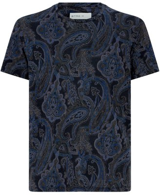 Etro Linen Paisley T-Shirt