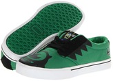Etnies Disney Monsters Jameson 2 (Toddler/Little Kid/Big Kid) (Green/Black) - Footwear