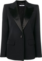 Givenchy structured shoulder blazer