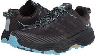 Hoka One One Speedgoat 4 GTX (Anthracite/Dark Gull Grey) Women's Shoes
