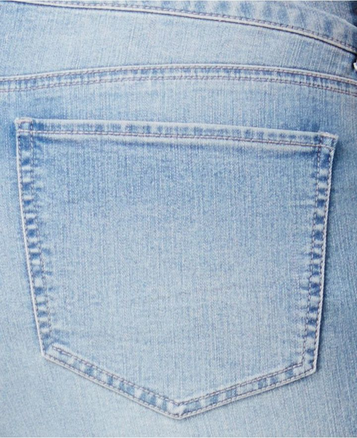 Style&Co. Style & Co Plus Size Cuffed Capri Jeans, Created for Macy's