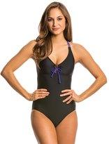 Prana Women's Colorblock Inez One Piece Swimsuit 8136353