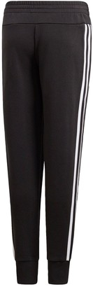 adidas Youth 3 Stripe Pants - Black/White