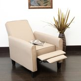 Christopher Knight Home Darvis Camel PU Leather Recliner Club Chair