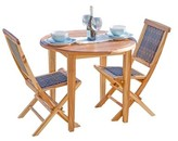 """Oasis Ecodecors Solid Wood Dining Table EcoDecors Color: Natural, Table Height: 36"""""""