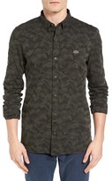 Lacoste Men's L!ve Jacquard Camo Shirt