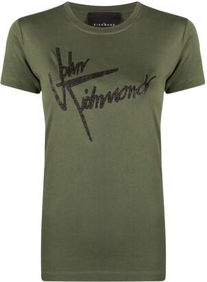 John Richmond logo print T-shirt