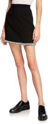 Libertine Beaded Trim Pencil Skirt