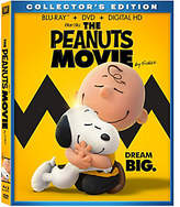 Peanuts The Movie Blu-Ray/DVD