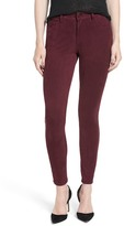 Joe's Jeans The Icon Faux Suede Mid Rise Skinny Ankle Pant