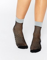 Jonathan Aston Flash Fishnet Sock