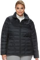 Columbia Plus Size Pacific Post Thermal Coil Puffer Jacket
