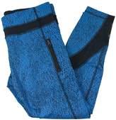 Lululemon Luxtreme Spray Jacquard Shocking Blue Black Inspire Tight II
