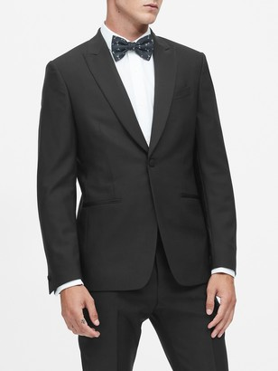 Banana Republic Slim Italian Wool Tuxedo Jacket