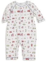 Kissy Kissy Baby's First Responder-Print Pima Cotton Coverall