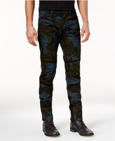 G Star Men's Slim-Fit Moto Camo Pants