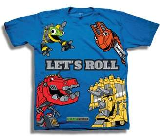 Short Sleeve Dinotrux Let's Roll Graphic Tee