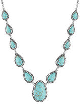 Lucky Brand Turquoise Pave Collar Necklace