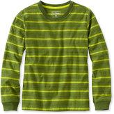 L.L. Bean Boys' Bean's Unshrinkable Shirt, Long-Sleeve Stripe