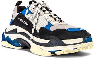 Balenciaga Triple S Sneaker in Black | FWRD