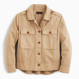 J.Crew Garment-dyed safari shirt-jacket