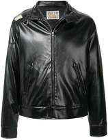 Walter Van Beirendonck Pre-Owned faux leather jacket
