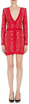 Balmain Women's Jacquard Fitted Sheath Dress