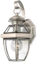 Quoizel Newbury Pewter Outdoor Coach Light