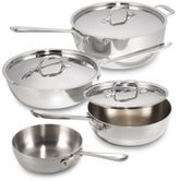 All-Clad Stainless Steel Covered Sauciers
