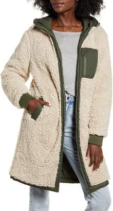Thread & Supply Reversible Wubby Fleece Lined Quilted Jacket