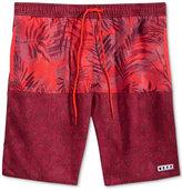Neff Men's Watercolor Palms Floral-Print Hot Tub Board Shorts