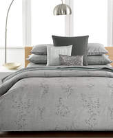 Calvin Klein Closeout! Staggered Lines Queen Coverlet Bedding