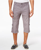 "INC International Concepts Men's 18"" Convertible Messenger Shorts, Only at Macy's"