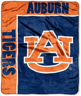 Northwest Company Auburn Tigers Plush Team Spirit Throw Blanket