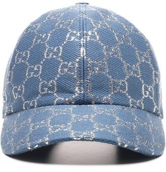 Gucci GG Lame Baseball Cap